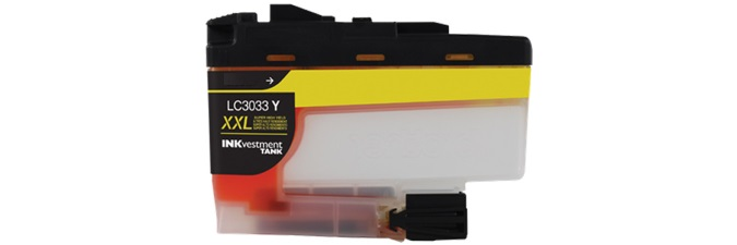 LC3033Y Ink Cartridge - Brother Compatible (Yellow)