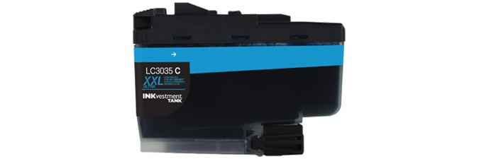 LC3035C Ink Cartridge - Brother Compatible (Cyan)