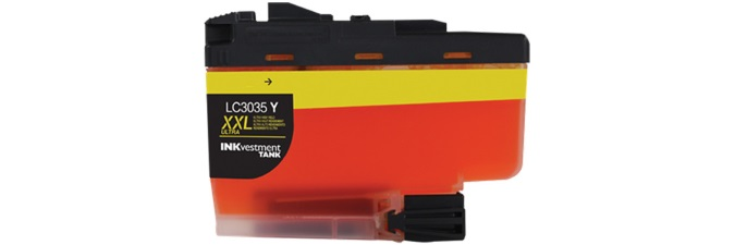 LC3035Y Ink Cartridge - Brother Compatible (Yellow)