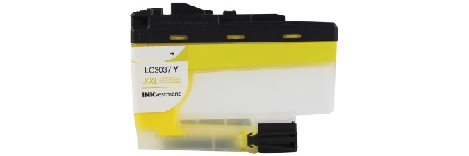 LC3037Y Ink Cartridge - Brother Compatible (Yellow)