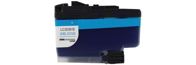 LC3039C Ink Cartridge - Brother Compatible (Cyan)