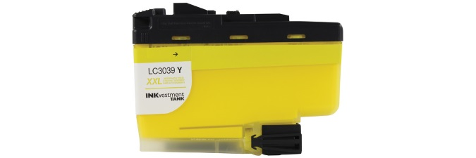 LC3039Y Ink Cartridge - Brother Compatible (Yellow)