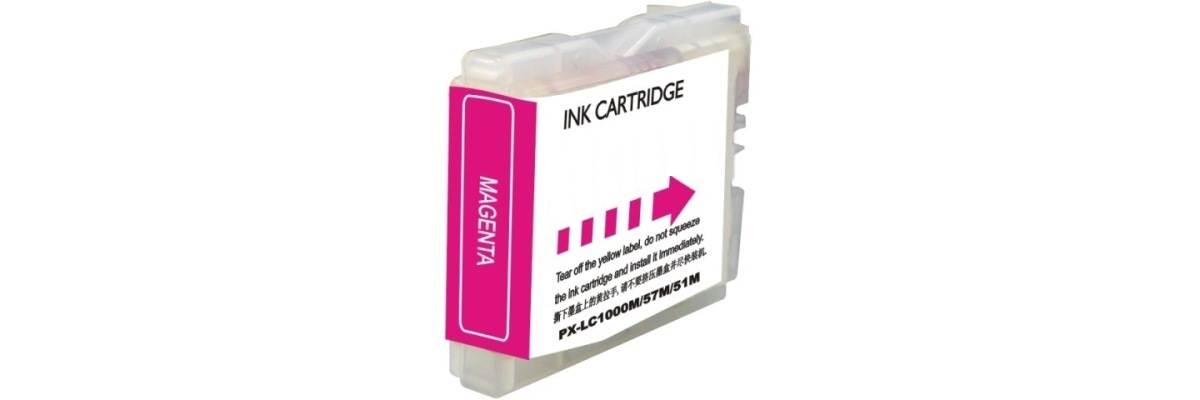 LC51M Ink Cartridge - Brother Compatible (Magenta)