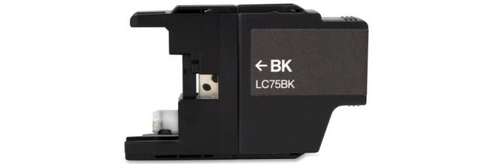 LC75BK Ink Cartridge - Brother Compatible (Black)