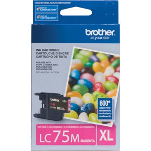 LC75M Ink Cartridge - Brother Genuine OEM (Magenta)