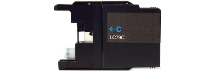 LC79C Ink Cartridge - Brother Compatible (Cyan)