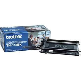 TN115BK Toner Cartridge - Brother Genuine OEM (Black)
