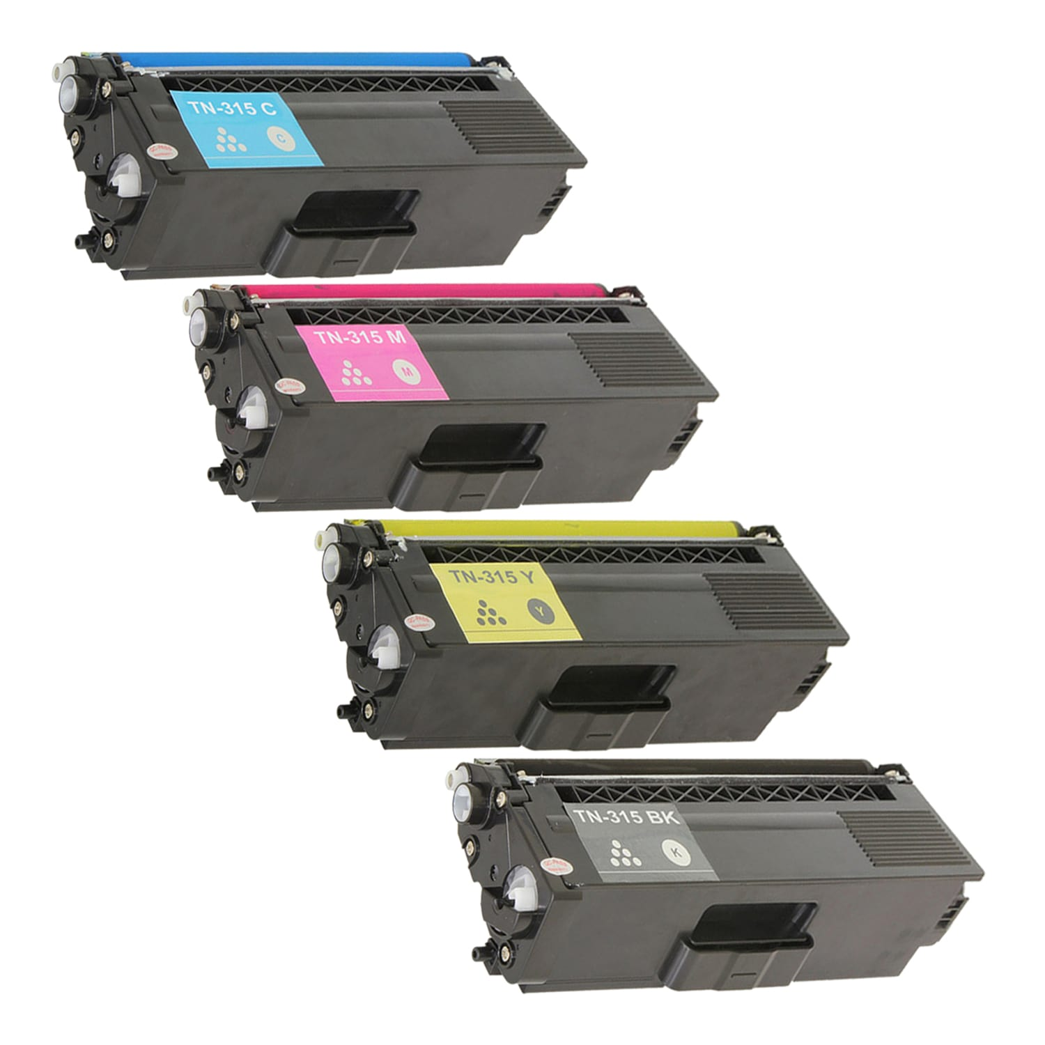 Compatible Brother TN315 Toner High Capacity Pack - 4 Cartridges