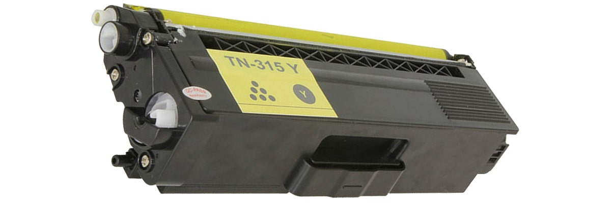 TN315Y Toner Cartridge - Brother Compatible (Yellow)