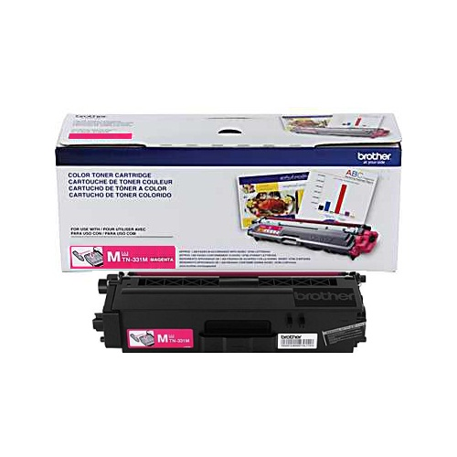 TN331M Toner Cartridge - Brother Genuine OEM (Magenta)