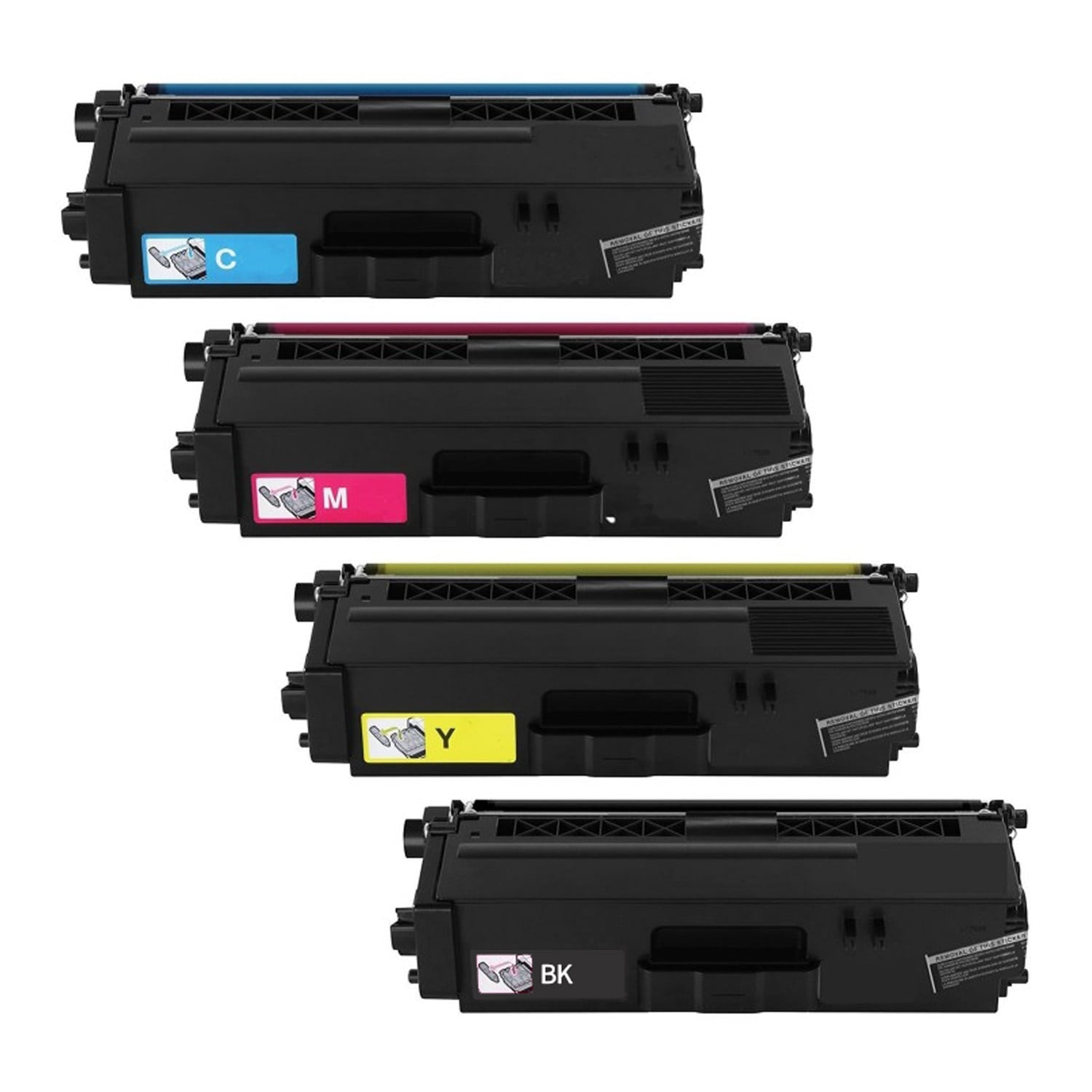 Compatible Brother TN339 Toner High Capacity Pack - 4 Cartridges