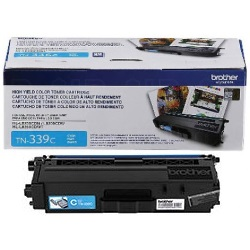 TN339C Toner Cartridge - Brother Genuine OEM (Cyan)
