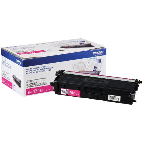TN431M Toner Cartridge - Brother Genuine OEM (Magenta)