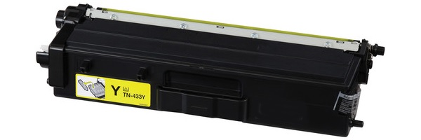 TN433Y Toner Cartridge - Brother Compatible (Yellow)