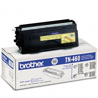 TN460 Toner Cartridge - Brother Genuine OEM (Black)