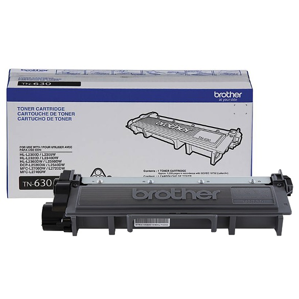 TN630 Toner Cartridge - Brother Genuine OEM (Black)