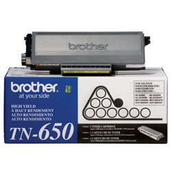 TN650 Toner Cartridge - Brother Genuine OEM (Black)