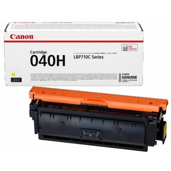 0455C001 Toner Cartridge - Canon Genuine OEM (Yellow)