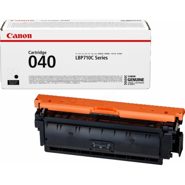 0460C001 Toner Cartridge - Canon Genuine OEM (Black)
