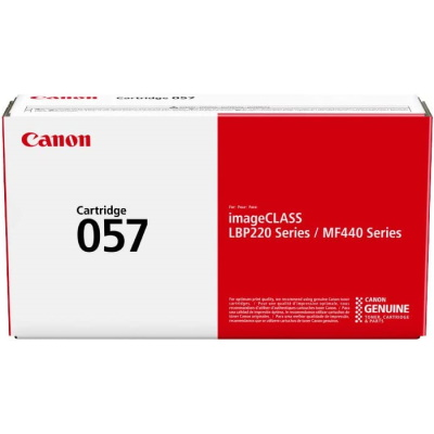 Canon 057 Toner Cartridge - Canon Genuine OEM (Black)