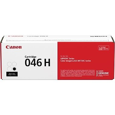 046H Black Toner Cartridge - Canon Genuine OEM (Black)
