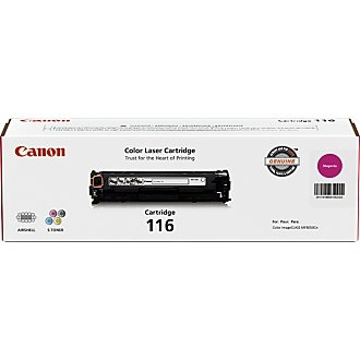 116 Magenta Toner Cartridge - Canon Genuine OEM (Magenta)