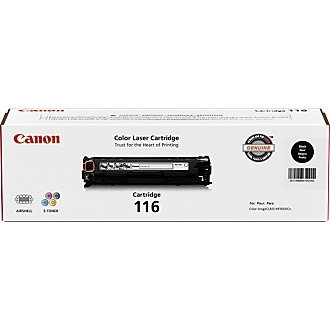 116 Black Toner Cartridge - Canon Genuine OEM (Black)