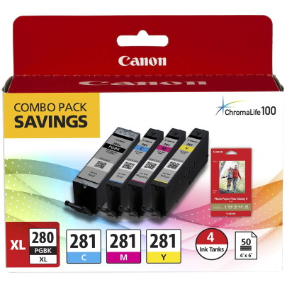 2021C007 Ink Cartridge - Canon Genuine OEM (Bundle Pack)