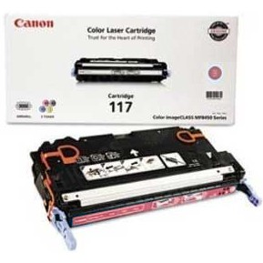 117 Magenta Toner Cartridge - Canon Genuine OEM (Magenta)