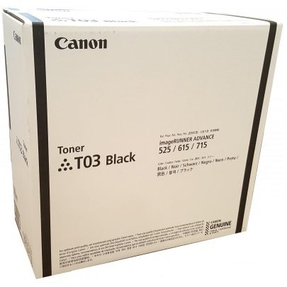 2725C001 Toner Cartridge - Canon Genuine OEM (Black)