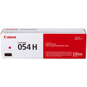 054H Magenta Toner Cartridge - Canon Genuine OEM (Magenta)
