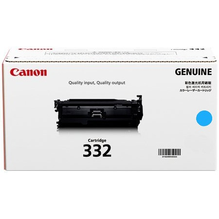 6262B012AA Toner Cartridge - Canon Genuine OEM (Cyan)