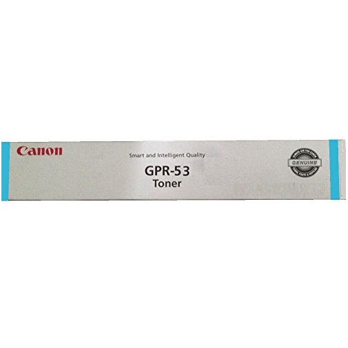 GPR-53 Cyan Toner Cartridge - Canon Genuine OEM (Cyan)