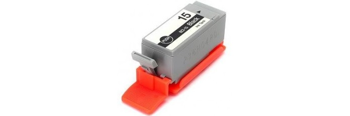 BCI-15BK Ink Cartridge - Canon Compatible (Black)