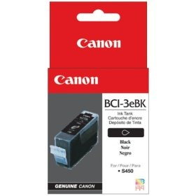 BCI-3eBK Ink Cartridge - Canon Genuine OEM (Black)