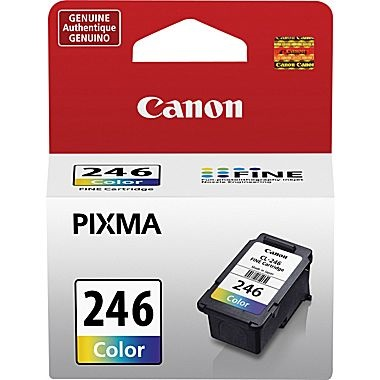 CL-246 Ink Cartridge - Canon Genuine OEM (Color)