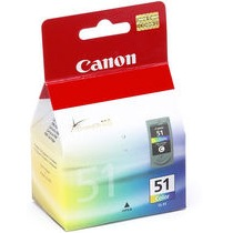 CL-51 Ink Cartridge - Canon Genuine OEM (Color)