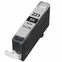 CLI-221BK Ink Cartridge - Canon Compatible (Black)