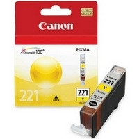 CLI-221Y Ink Cartridge - Canon Genuine OEM (Yellow)