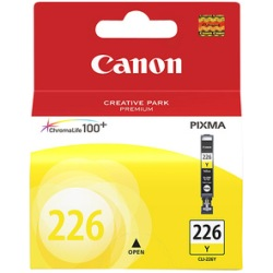 CLI-226Y Ink Cartridge - Canon Genuine OEM (Yellow)