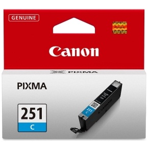 CLI-251C Ink Cartridge - Canon Genuine OEM (Cyan)