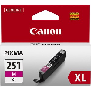 CLI-251M XL Ink Cartridge - Canon Genuine OEM (Magenta)