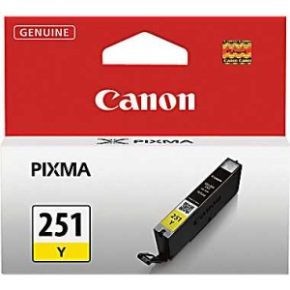 CLI-251Y Ink Cartridge - Canon Genuine OEM (Yellow)