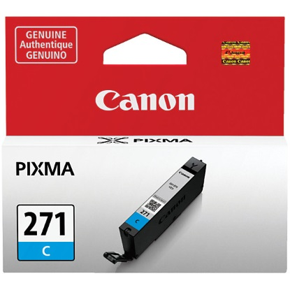 CLI-271 C Ink Cartridge - Canon Genuine OEM (Cyan)