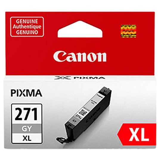 CLI-271XL GY Ink Cartridge - Canon Genuine OEM (Gray)