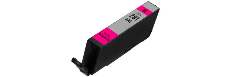 CLI-281XXL M Ink Cartridge - Canon Compatible (Magenta)