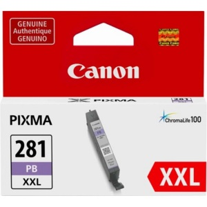 CLI-281XXL PB Ink Cartridge - Canon Genuine OEM (Photo Blue)
