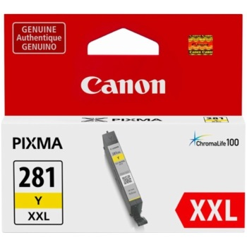 CLI-281XXL Y Ink Cartridge - Canon Genuine OEM (Yellow)