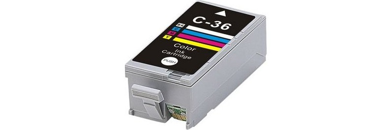 CLI-36 Ink Cartridge - Canon Compatible (Color)