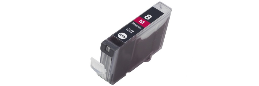 CLI-8M Ink Cartridge - Canon Compatible (Magenta)